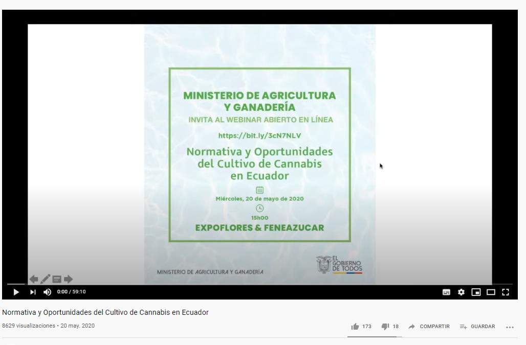 Normativa y Oportunidades del Cultivo de Cannabis en Ecuador
